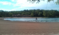 Green Lakes beach