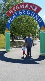 Wegmans Playground entrance