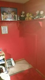 part of my red office before