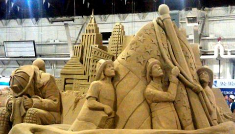 sand sculpture NY State Fair